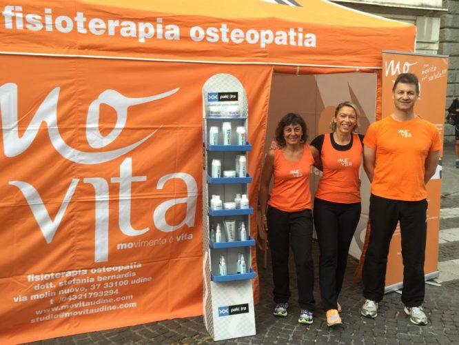 Movita Udine alla Maratonina Città di Udine 2015