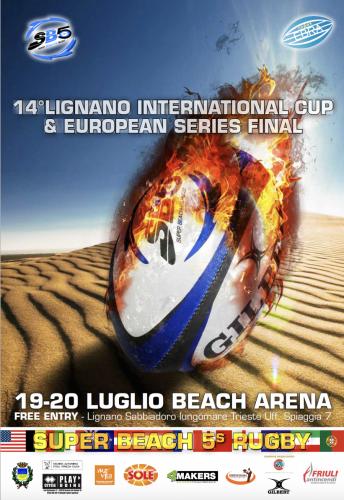 Beach Rugby 2014 Lignano Sabbiadoro